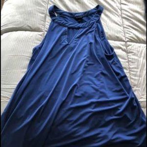 Blue Plus Size Torrid Shirt!